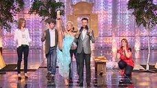 Юлия Ковальчук показывает свою растяжку на шоу «Минута славы»