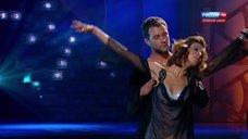 Танец привлекательной Елены Подкаминской в шоу «Танцы со звездами»