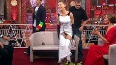 Елена Подкаминская засветила трусики в шоу «Танцы со звездами»