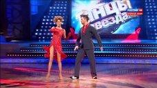 Страстный танец Елены Подкаминской в шоу «Танцы со звездами»