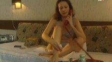 Эротичная Ольга Погодина в белье