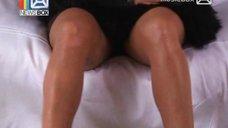 1. Соблазнительная Жанна Фриске на съёмках клипа «Ты рядом»