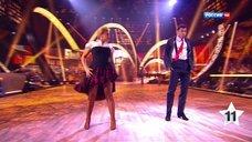 Ноги Ирины Пеговой на шоу «Танцы со звездами»