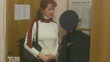 Ольга Кабо без лифчика