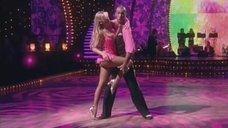 Красивая Ирина Салтыкова в шоу «Танцы со звездами»