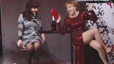 Озорная Лариса Удовиченко в передаче «Русские сенсации»