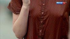 Любовь Константинова в мокром платье