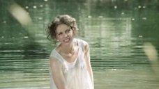 Ольга Машная в мокрой рубашке