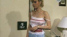Светлана Чуйкина в майке без бюстгальтера