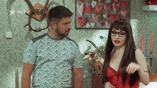 Сексуальная Виктория Булитко в роли репетиторши по сексу
