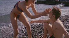 Молодая Татьяна Догилева в купальнике