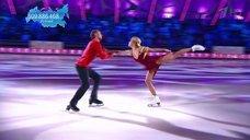 Стройные ноги Маруси Зыковой на шоу «Ледниковый период»