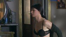 Сексуальная Ирина Лачина в лифчике