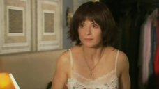 Горячая Ирина Лачина в ночной рубашке