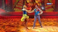 Ноги Ольги Прокофьевой в шоу «Танцы со звездами»