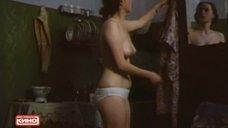 Голая грудь Ларисы Грановской