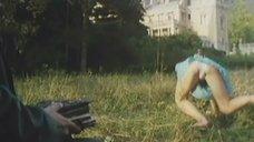 Елена  Полякова засветила трусики