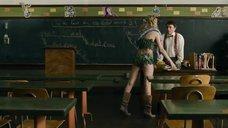Бри Ларсон в костюме Евы