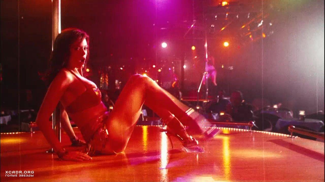 Public striptease in massage