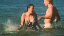 Алла Клюка очнулась без купальника на пляже
