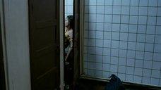 Секс с Евгенией Серебренниковой в общественном туалете