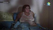 Секси Ирина Основина в ночнушке