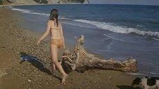 Галина Беляева плавает в море с дельфинами