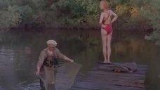 Евдокия Германова в купальнике