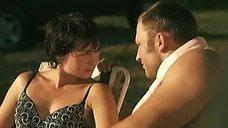 10. Сексуальная Юлия Рудина в купальнике – Боец 2: Рождение легенды