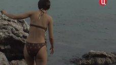 Наталья Курдюбова в купальнике