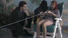 Татьяна Плотникова в колготках в передаче «Розыгрыш»