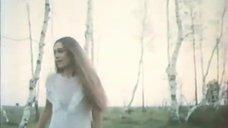 Сексуальная Лидия Байрашевская в прозрачном платье