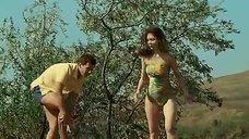 Горячая Екатерина Федулова в купальнике