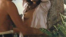 3. Страстный секс с Моник Габриэль возле дерева – Чёрная Венера