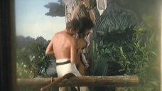 4. Страстный секс с Моник Габриэль возле дерева – Чёрная Венера