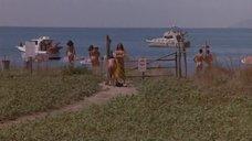 Азия Ардженто разделась на нудистком пляже