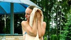 Ольга Ломоносова в купальнике