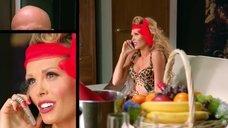 3. Мария Горбань в леопардовом белье – Кухня
