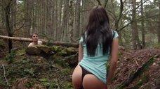 2. Секс сцена с Талитой Люк-Эрдлей в лесу – Поворот не туда 6: Последний курорт
