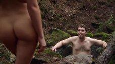 8. Секс сцена с Талитой Люк-Эрдлей в лесу – Поворот не туда 6: Последний курорт