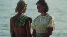 Пилле Пихламяги топлес на пляже