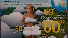 Эротичный прогноз погоды от Кэтрин Хайгл