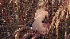 Секс с Ингрид Штегер в кукурузном поле