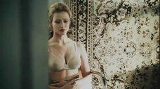 Сексуальная Агнешка Вагнер в белье