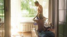 11. Секс сцена с Викторией Толстогановой – Выше неба (2019)