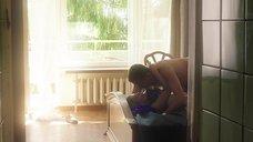 4. Секс сцена с Викторией Толстогановой – Выше неба (2019)