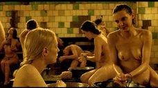 Сцена в бане с Викторией Мирошниченко и Василисой Перелыгиной