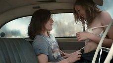 Виктория Тейн занимается сексом в машине