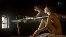 Сцена в бане с Ольгой Вениковой и Алисой Лозовской
