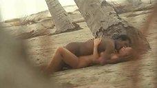 Секс с Сирпой Лейн на пляже